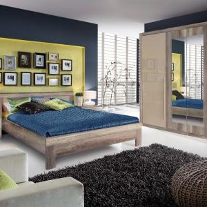Kolekcja Malvagio może być doskonałym punktem wyjścia do stworzenia przytulnej aranżacji sypialni. Cena łóżka 529 zł. Fot. Meble Forte.