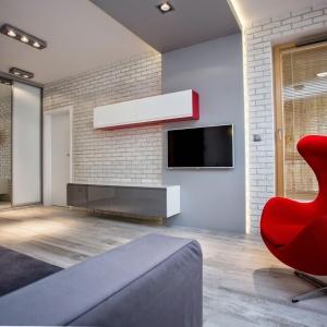Salon w stylu nowoczesnym – zobacz 20 pomysłów polskich projektantów