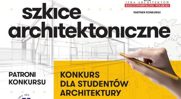 """""""Szkice architektoniczne"""" ruszył konkurs dla studentów architektury"""