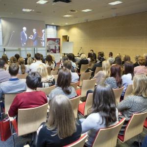 Studio Dobrych Rozwiązań to spotkania dla projektantów wnętrz i architektów. W Warszawie odbyło się w centrum konferencyjnym Stadionu Narodowego.