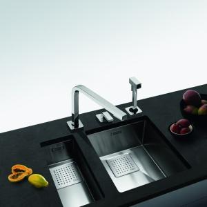 Wyjątkowe, nowoczesne rozwiązania Franke zdecydowanie pomogą nam w aranżacji wnętrza kuchennego, tak aby stało się funkcjonalne i wygodne, a przy tym zgodne z najnowszymi trendami i piękne. Fot. Franke.