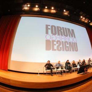 Forum Dobrego Designu - ubiegłoroczna debata inauguracyjna. Fot. Bartosz Jarosz.