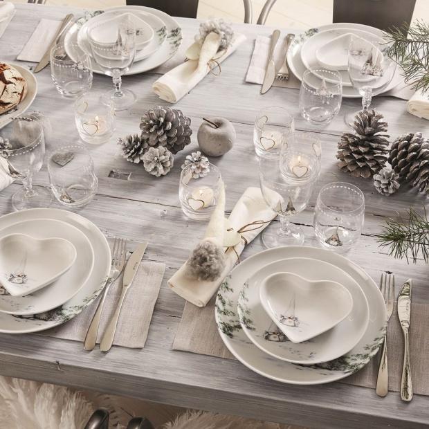 Stół na święta: 12 pięknych zdjęć