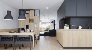 Mieszkanie w Lublinie zyskało nowy charakter po metamorfozie. Zobaczcie, jak w oryginalny sposób podzielono przestrzeń.