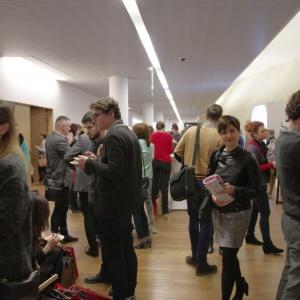 Architekci, ludzie z branży, miłośnicy wzornictwa. Forum Dobrego Designu przyciągnęło tłumy gości. Fot. Piotr Waniorek.