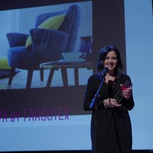 Nagrodę w kategorii Nagroda Redakcji odebrała Anna Sobczyńska - marketing manager firmy Fargotex. Fot. Piotr Waniorek.