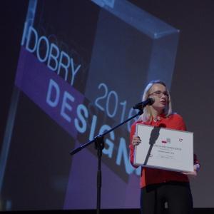Wyróżnienie w kategorii drzwi i okna - dyplom odebrała Katarzyna Śliwińska,  kierownik działu marketingu w firmie RuckZuck.biz. Fot. Piotr Waniorek.