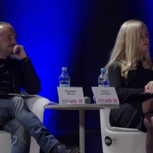 Rozwój technologii zmienił strukturę pracy - powiedział w trakcie panelu Bogusław Barnaś. Fot. Piotr Waniorek.