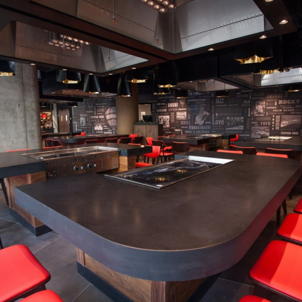 Nowoczesność japońskiej restauracji Benihana