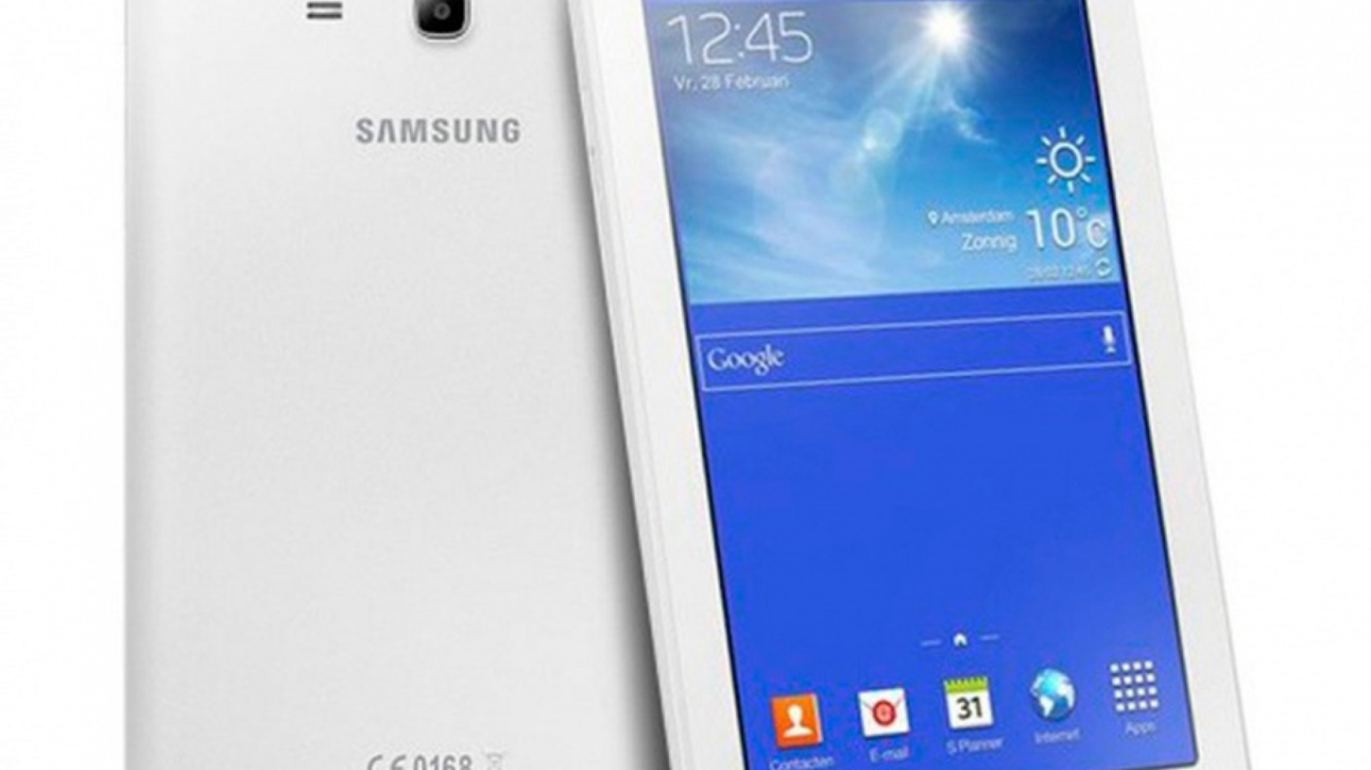 Nagrodę główną – tablet Samsung Galaxy Tab 3 Lite – otrzymuje Pani Ewa Serafin. Fot. Roca.