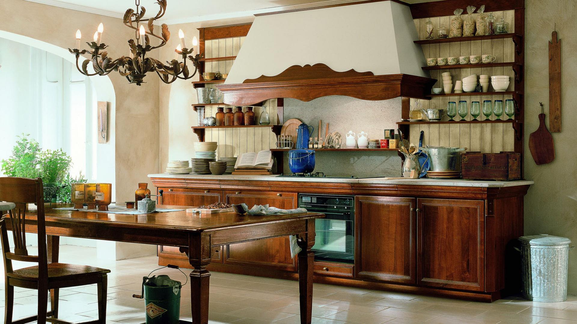 Drewno to zawsze dobry Cegła, kamień, drewno tak   -> Kuchnia I Cegla