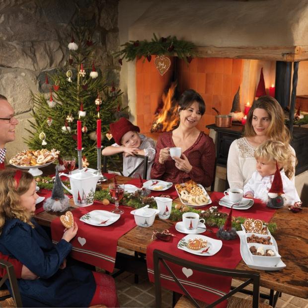 Stół na święta: sięgnij po czerwień