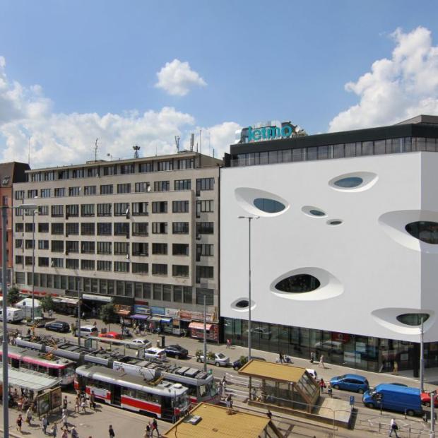 Futurystyczna architektura w Brnie