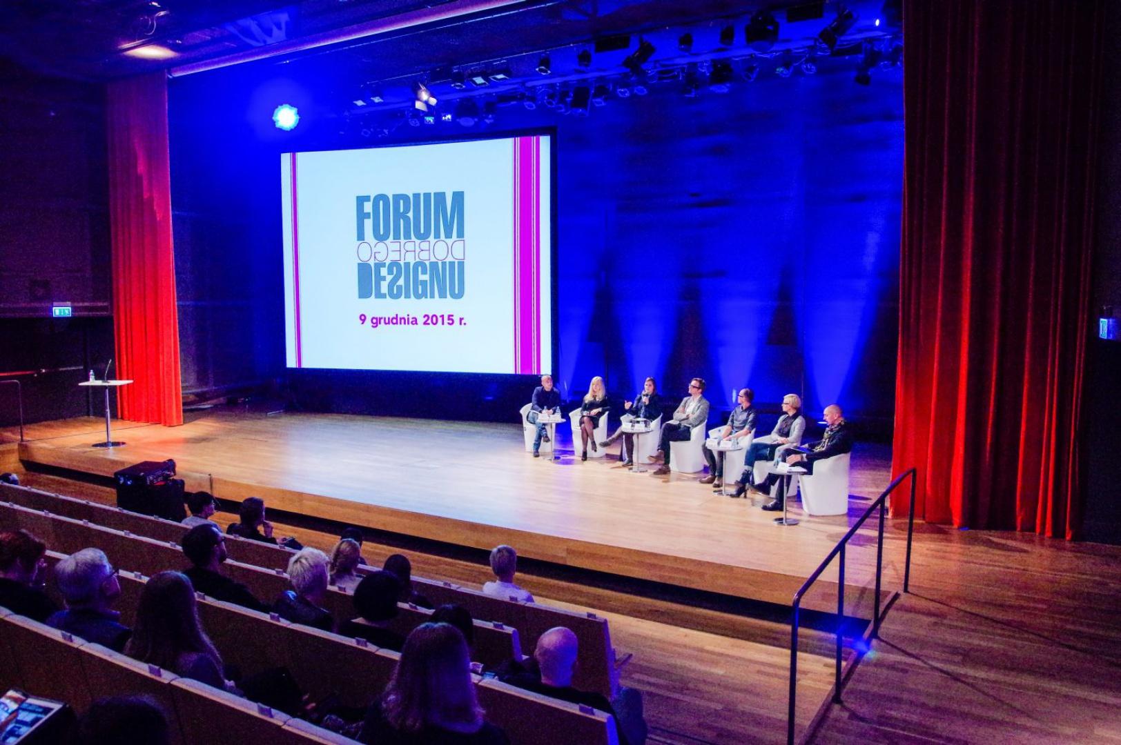 III Edycja Forum Dobrego Designu obfitowała w intrygujące dyskusje. Zapraszamy do obejrzenia naszej wideorelacji. Fot. Piotr Waniorek.