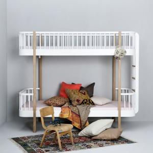 Meble dla dzieci mogą wyróżniać się naprawdę ciekawym designem. Ten model idealnie wpisze się w modernistyczne wnętrza. Fot. Cuckooland.