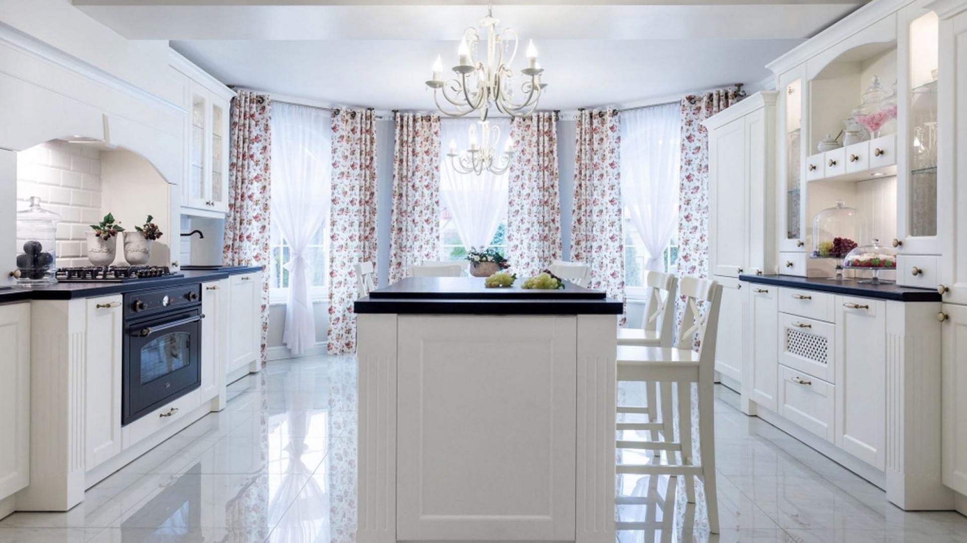 Klasyczne meble kuchenne w Klasyczna kuchnia w stylu   -> Kuchnia W Prowansalskim Stylu