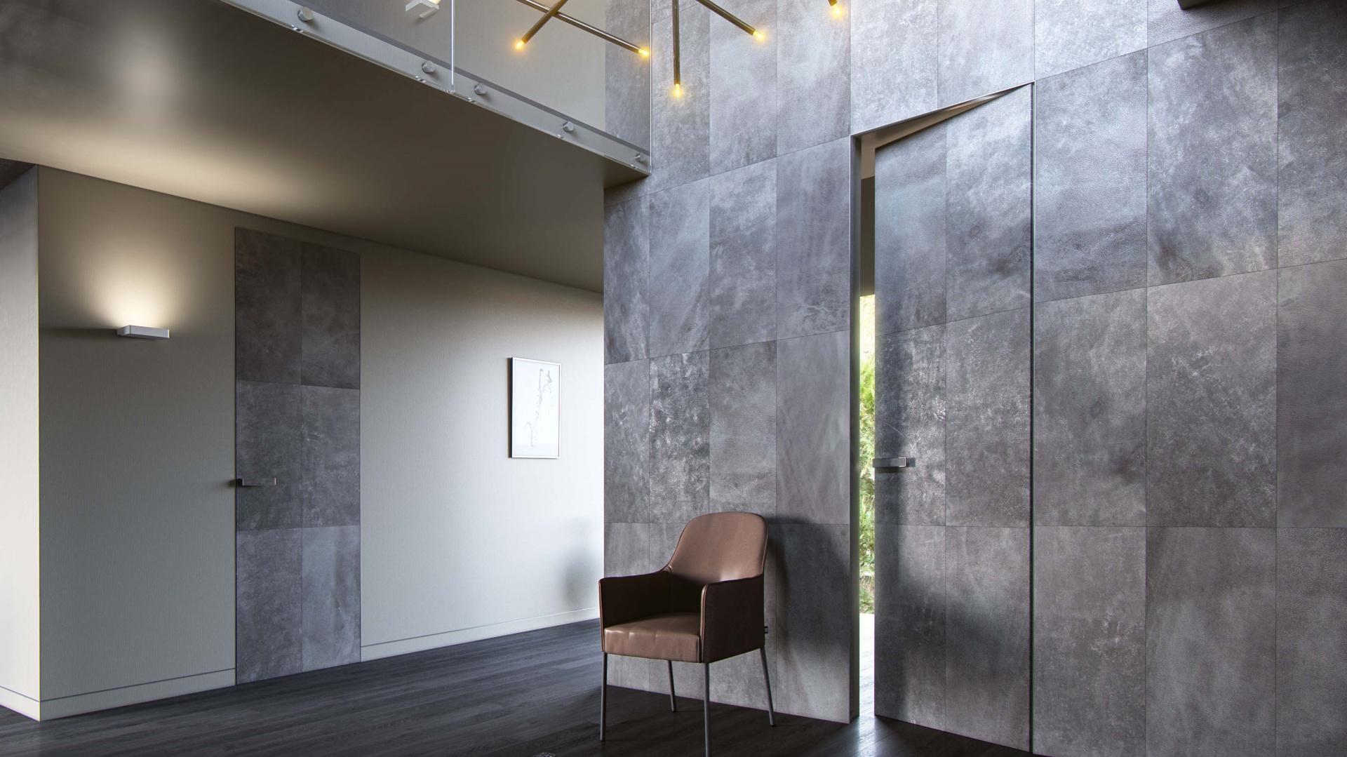 Wzory o nazwach Modern i Graf z serii Aluminium Line Skóra, stanowią współczesną interpretację głównych tez projektowych okresu międzywojennego.  Fot. Materiały prasowe