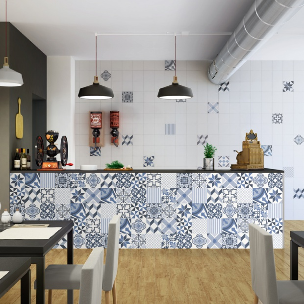 Modna kuchnia: postaw na patchworkowe wzory