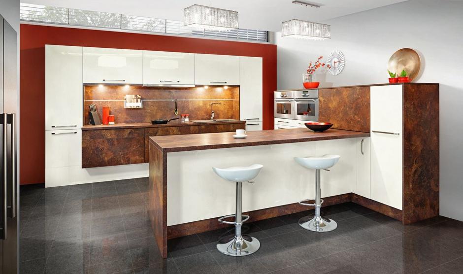Fronty Ceramic Rust do 12 pomysłów na kuchenne szafki Który to wasz typ   -> Salon Kuchnie Rust