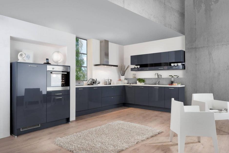 Szara kuchnia to 12 pomysłów na kuchenne szafki   -> Szara Kuchnia Jaki Kolor Ścian