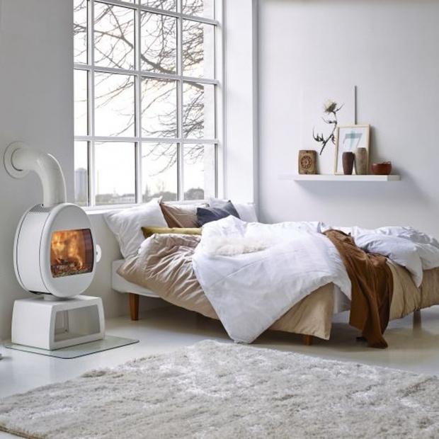 Kominek w sypialni. 5 pomysłów na aranżację