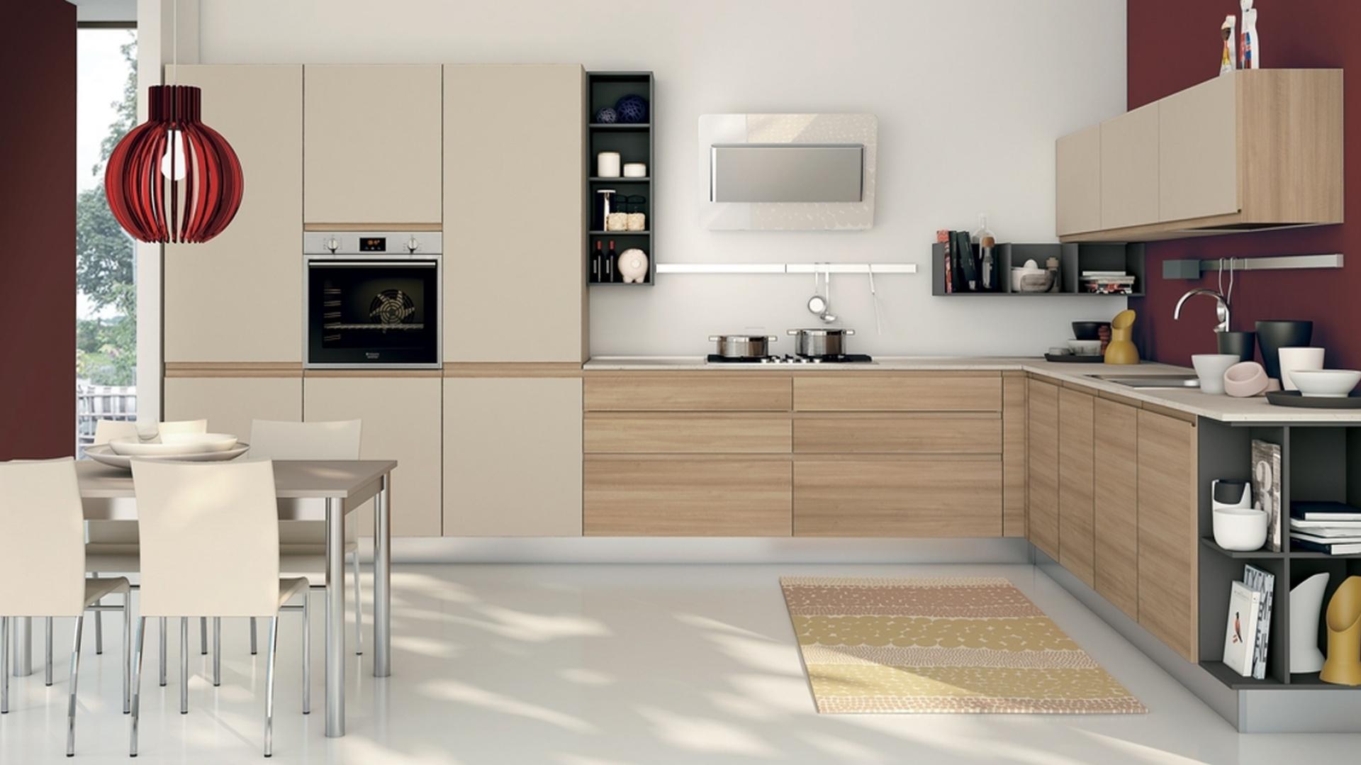 Matowe, eleganckie fronty w 15 sposobów na kuchnię w kolorze kawy z mlek   -> Kuchnia W Kolorze Kawa Z Mlekiem