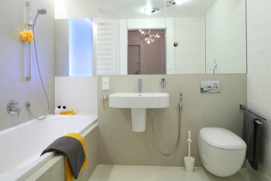 Mała łazienka w bloku. Zdjęcia z polskich domów - zdjęcie numer 1