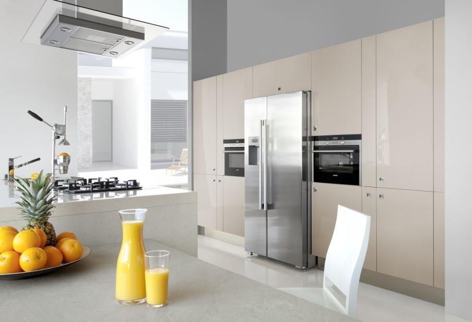 Wysoka zabudowa kuchenna Kuchnia pod sam sufit najlepsze pomysły na wys   -> Kuchnia Gazowo Elektryczna Pod Zabudowe