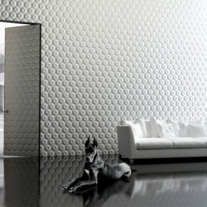 System drzwi Piu Alu składa się z ościeżnicy aluminiowej zlicowanej ze ścianą oraz skrzydła w konstrukcji aluminiowej umożliwiającej obłożenie różnymi materiałami po dwóch stronach drzwi. Fot. Piu Design.