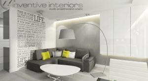 Nasza projektantka przedstawia dwa warianty na urządzenie salonu w stylu nowoczesnym.