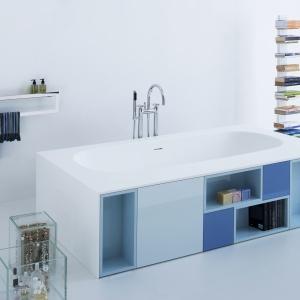 W kilku odcieniach niebieskiego - meble Joy zaprojektował David Dolcini dla firmy Arlexitalia. Fot.  Arlexitalia.