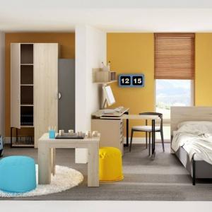 Kolekcja Frame. W ramach kolekcji dostępnych jest wiele elementów. Świetnie sprawdzi się także w pokoju chłopca. Fot. Dig-Net.