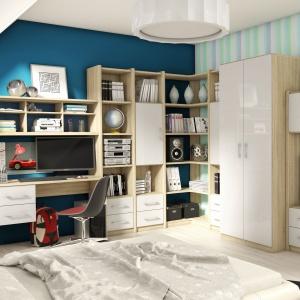 Kolekcja Nordic dedykowana jest także do pokojów dziennych. Fot. FM Brawo.