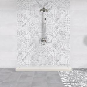 Jak wykonane z cementu - płytki ceramiczne Portland firmy Keros Ceramica. Fot. Keros Ceramica.