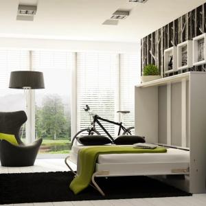 Półkotapczan Concept łączy w sobie ideę sprzed lat z nowoczesnym designem. Nowa odsłona tego mebla, pozwala na zaaranżowanie niewielkich pomieszczeń. Fot. Dig Net.