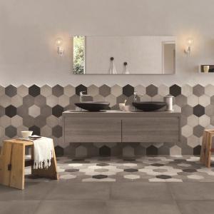W minimalistycznym stylu - płytki ceramiczne Rewind firmy Ragno. Fot. Ragno.