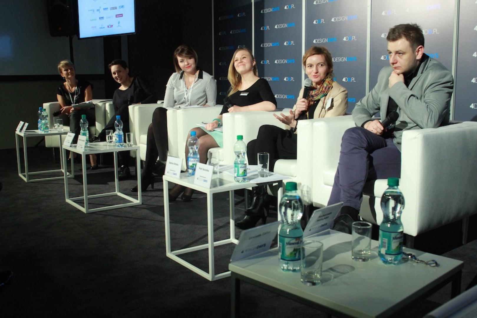 Panel dyskusyjny Wnętrza Mieszkaniowe: projekt kuchnia cz. II. Fot. 4 Design Days.