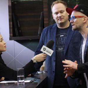 Natalia Nguyen, Grzegorz Szewc (w środku), Tomasz Pągowski. Fot. 4 Design Days.