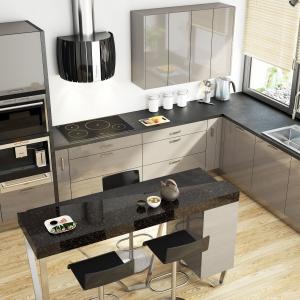 Modna kuchnia: postaw na meble w szarym kolorze