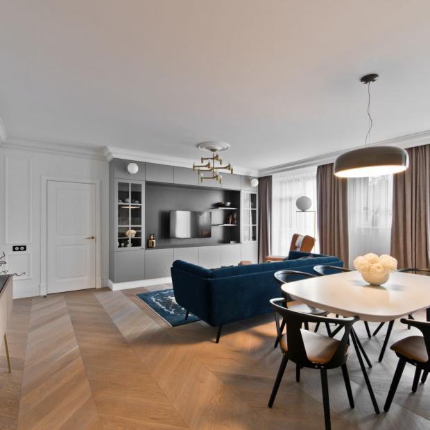 Piękne mieszkanie w Wilnie: zobacz eleganckie wnętrze
