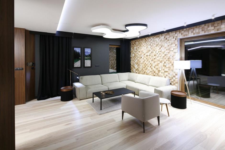 duża iloś� świat�a oświetlenie w salonie wybierz