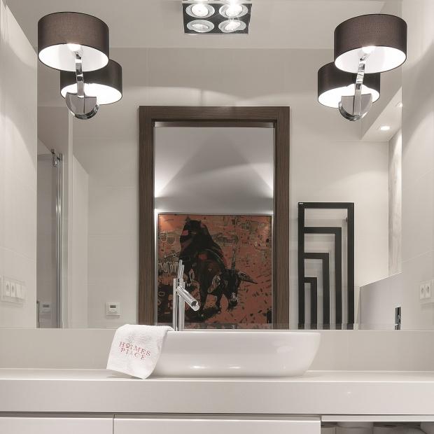 Mała łazienka. Gotowy projekt na 6 metrów z fotosami gwiazd