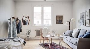 Niecałe 35 metrów kwadratowych. Na tak niewielkiej powierzchni udało się urządzić stylowe wnętrze w stylu vintage.