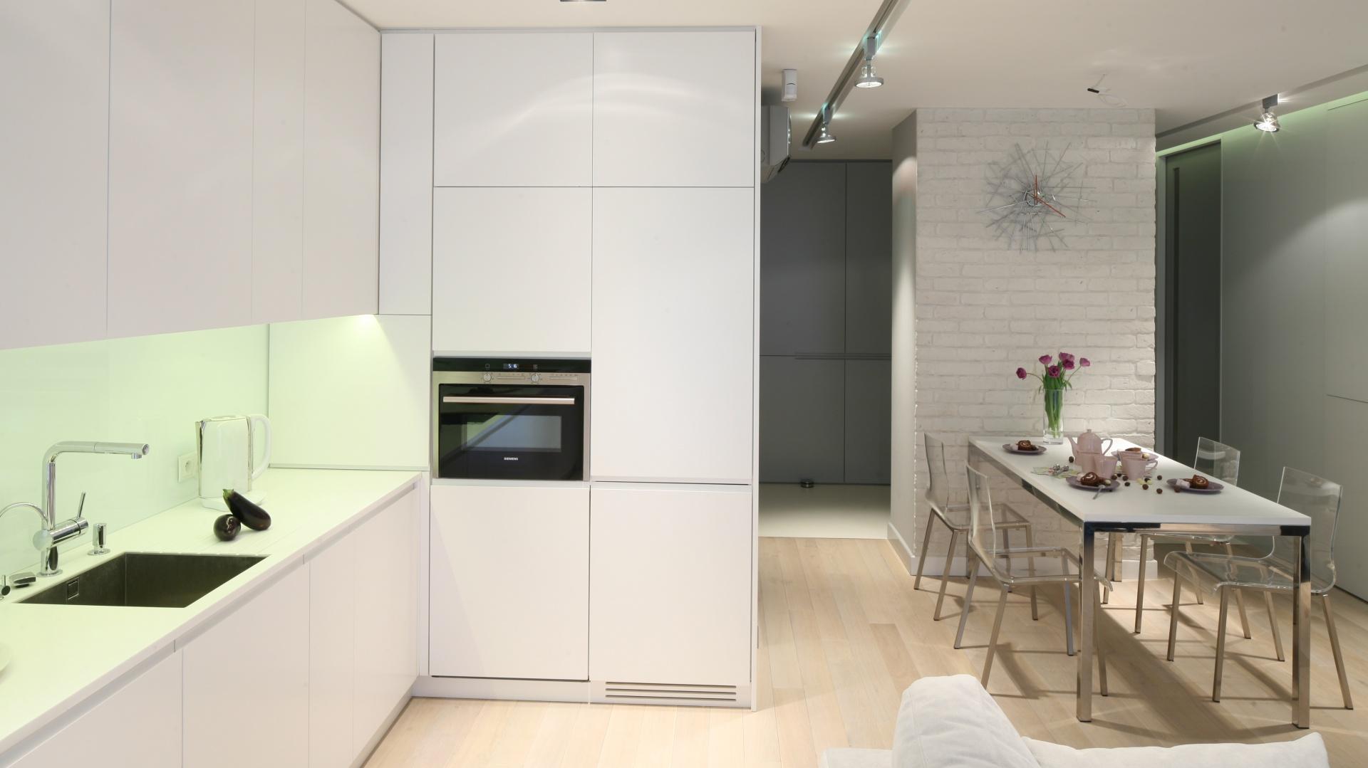 bia�a kuchnia w ceg�a w kuchni galeria pomys�243w