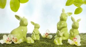 Chciałbyś, aby twoje mieszkanie na czas świąt nabrało wiosennego charakteru? Takie pastelowe ceramiczne zwierzątkana pewno ci w tym pomogą.