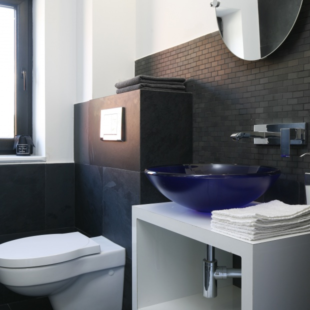 Toaleta dla gości – gotowy projekt na 3 metry