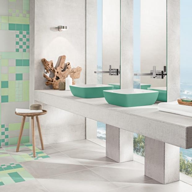 Łazienka w wiosennych kolorach: galeria inspiracji