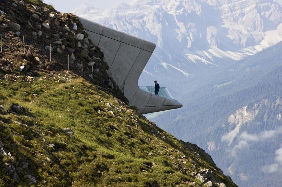 Messner Mountain Museum, Włochy. Fot. Inexhibit.