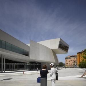 MAXXI Museum of XXI Century Art, Rzym. Fot. Richard Bryant.