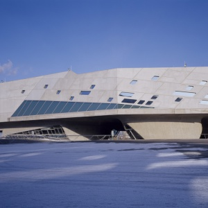 Phaeno Science Centre. Fot. Werner Huthmacher.